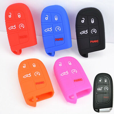 FIT FOR JEEP CHEROKEE DODGE FIAT Freemont CHRYSLER 300 REMOTE KEY FOB CASE COVER