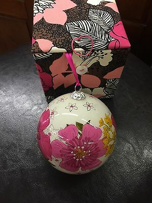 Vera Bradley Retired Christmas Ornament