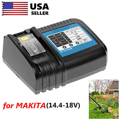 Makita LXT DC18RC 18V Fast Battery Charger 18 Volt 4 BL1830,BL1815,BL1840,1850 T