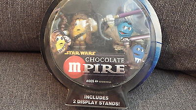 Special Collector's Edition Star Wars Chocolate Mpire M&ms Chewbacca Mace Windu