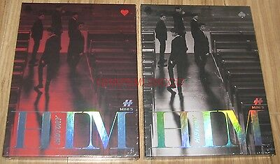 HISTORY HIM 5th Mini Album HEART + SPADE VER. SET 2 CD + POSTER IN TUBE CASE NEW