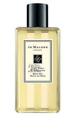 Jo Malone 'Lime Basil & Mandarin' Bath Oil 8.5oz/250ml. Fresh*****NIB*****