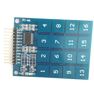 1Pcs TTP229 16 Channel Digital Capacitive Switch Touch Sensor Module
