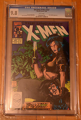 CGC 9.8 X-Men #267 *White Pages*High Grade*2nd Gambit*