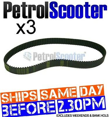 3 HTD 610 5M Petrol Scooter 610x5M-18 DRIVE TIMING BELT Tornado Moby Bladez Gas