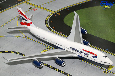 Gemini 200 Boeing 747-400 British Airways G-BYGE G2BAW634 a metal model in 1/200