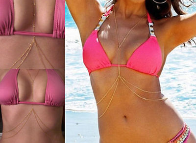 Bikini  Waist Chain Grecian BODY CHAIN Belly Chain Body Jewellry