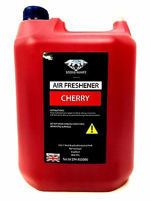 5 litre CHERRY scent Concentrate liquid car air freshener stonewhite fresh nw 5L