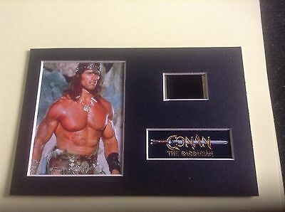 Conan the barbarian 6x4 film cell display