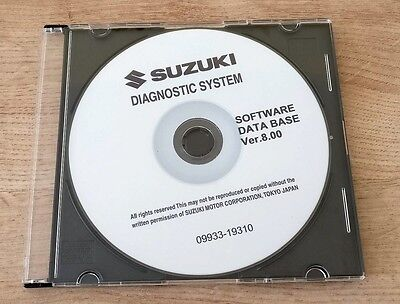 Suzuki Outboard Diagnostic Software CD