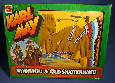 BIG JIM 9413 Karl May Indian Chief Western Outfit Adventure Set OVP MIB G168