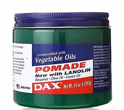 Dax Compounded With Vegetable Oils Pomade 14oz (397g)