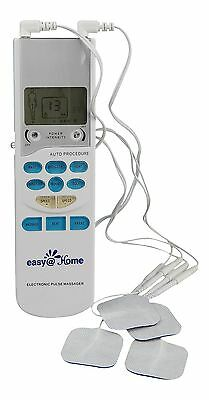 Easy@Home TENS Handheld Electronic Pulse Massager Unit Health Canada FDA and ...