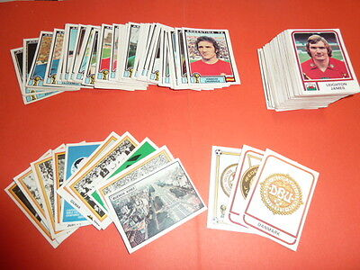 Set Lot De 195 Images Panini Argentina 78 1978 Rare - Toutes Differentes