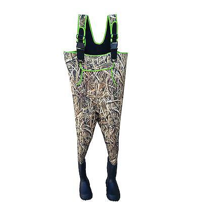 Sports Neoprene Max5 Camo Hunting Fishing Wader Camouflage Chest Wader Clothing