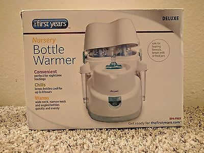 The First Years Deluxe Nursery Bottle Cooler / Warmer Automatic Shut Off Kiinde