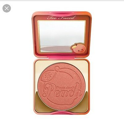 Too Faced Papa Dont Peach Blush (limited edition)