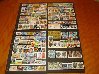 U.s.a., America Used Stamp Collection, 180 Stamps, Good Modern Used Collection.
