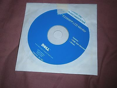 Dell E228Wfp Lcd Monitor Drivers & Documentation Cd Software - Only $2 Postage