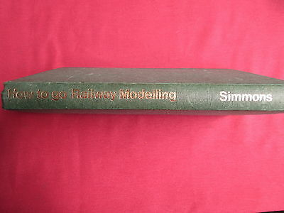 How to go railway modelling Norman Simmons 1972 HB book ex library