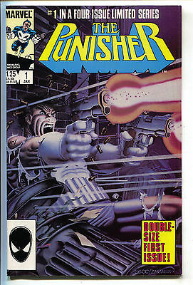 Punisher 1 1st Series Marvel 1986 NM- Mike Zeck Jigsaw Mini Series