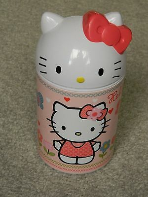 Hello Kitty Pen Holder/Plastic Storage Pot, Swivel Lid