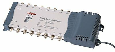 Labgear LDL216 4G 16 Way Amplifier with Bypass