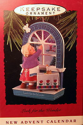 Hallmark 1993  Look For The Wonder (Advent Calender)  Ornament