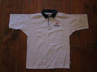 Vintage cotton Portugal Rugby official shirt XL mint condition