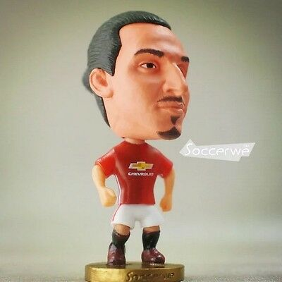 Soccer Football Zlatan Ibrahimovic Manchester United Action Figure
