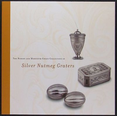 Antique English Silver Nutmeg Graters- Green Collection Catalog