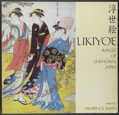 Antique Japanese Ukiyo-e Woodblock Prints - 1989 British Museum Catalog