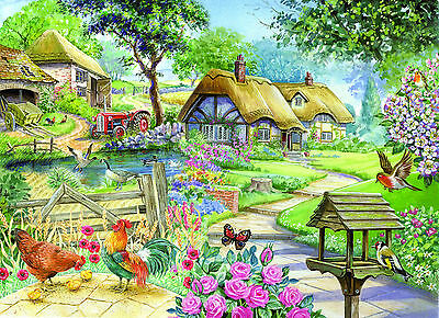The House Of Puzzles 500 BIG PIECE JIGSAW PUZZLE - Country Living Big Pieces