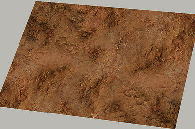 "Gaming mat Warhammer battle board 6x4 ""Mars Mechanicum"""