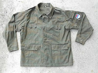 VRS Serb soldier blouse used in Bosnian warr 1992-1995 with emblem