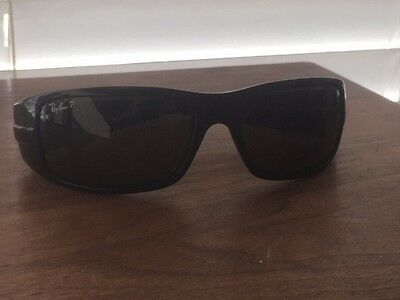 6adca66abe RAY-BAN RB4057 POLARIZED Sunglasses Black 3P 601 58 -  105.00