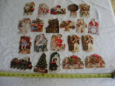 21 CHRISTMAS CARDS by VICTORIAN CHARMS the GIFTED LINE Santa Children 1990 USA