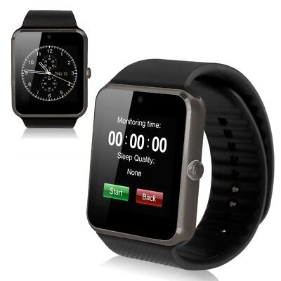 GT08 Montre Bluetooth GSM SIM Smart WATCH Android IOS iPhone Samsung / WhatsApp
