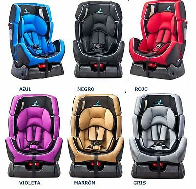 Silla De Coche Caretero Scope Deluxe, Gupo 0, 1 Y 2. Varios Colores