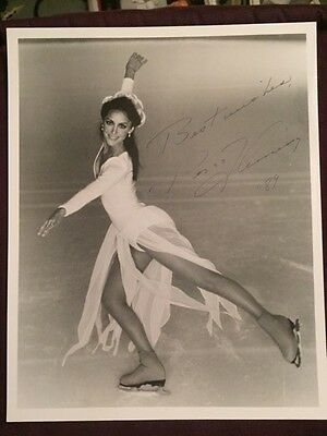 Peggy Fleming Olympics Figure Skating Autographed Signed Photo