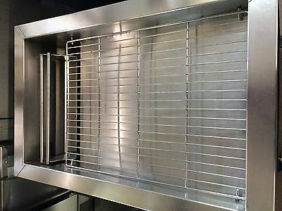 Stainless Steel Donut Glazing Pan w/ Handheld Glazer Casters +Rack RECONDITIONED