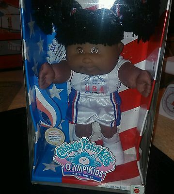 NEW Cabbage Patch Kids OlympiKids '96 Olympics Edition Girl Basketball Doll Toy