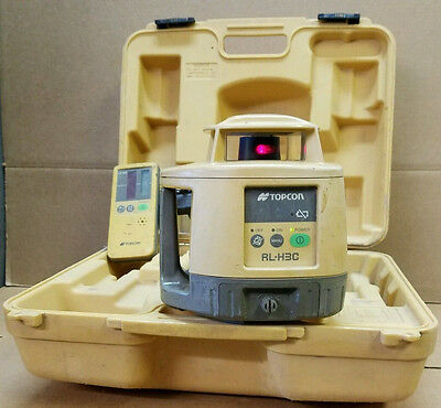 Topcon RL-H3C Rotary Laser Level with LS-70C Receiver - 18