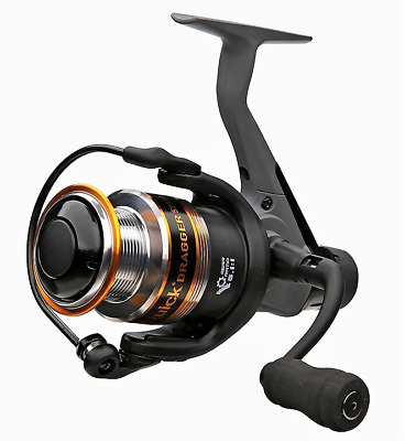 New DAM QUICK DRAGGER 540 RD - Quality Rear Drag Spinning Reel