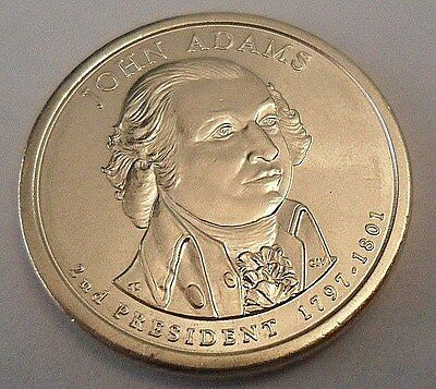 2007 D JOHN ADAMS Presidential Dollar Coin  **FREE SHIPPING**