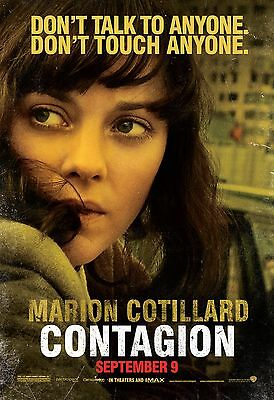 """Contagion Movie Poster 18"""" x 28"""" ID:4"""