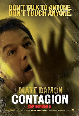 """Contagion Movie Poster 18"""" x 28"""" ID:6"""