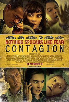 """Contagion Movie Poster 18"""" x 28"""" ID:8"""