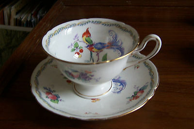 "Shelley  ""Versaille""  # 11426  - Teacup and Saucer"