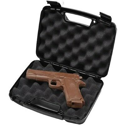 Chocolate Handgun with Real Gun Case Solid Chocolate Gun Great for Easter Basket